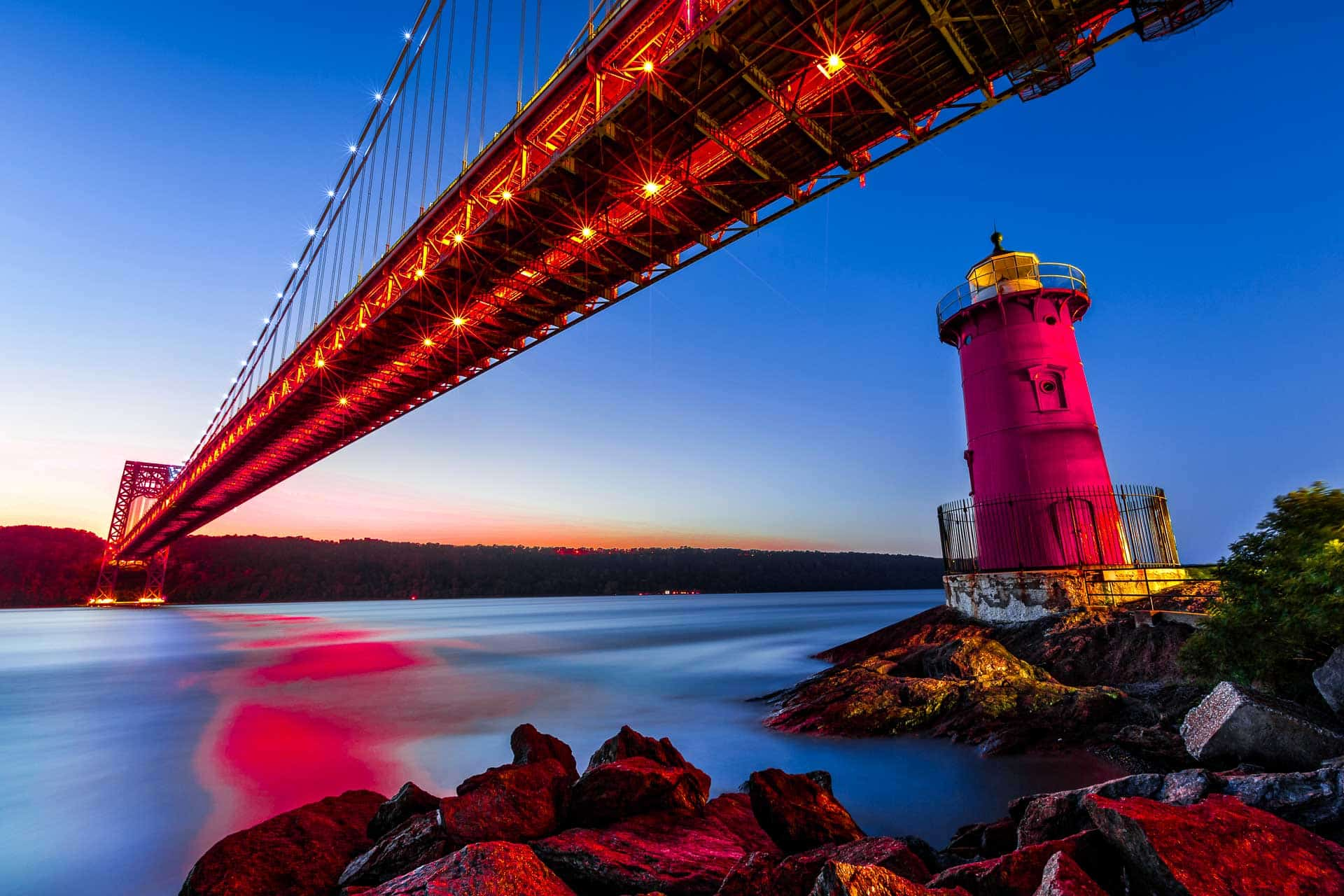 the little red lighthouse in New York City