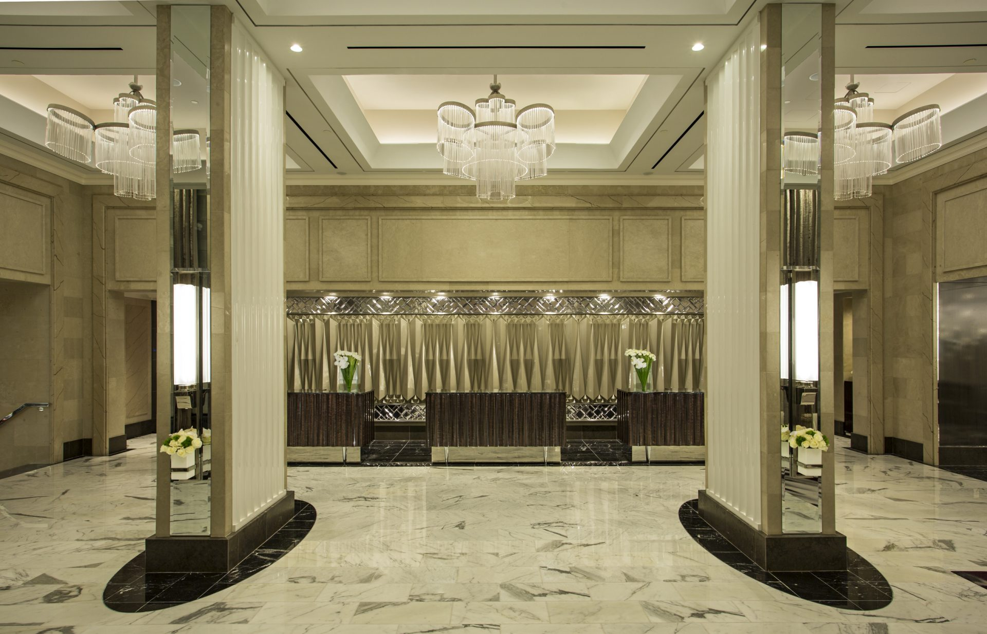 Lobby of the Loews Regency New York