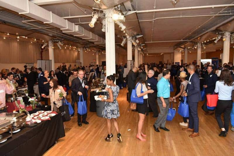 Attendees at the New York City Association of Hotel Concierges 2016 Trade Show